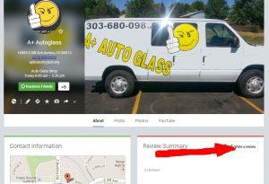 Auto Glass Scratch Removal Service